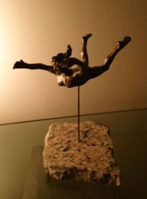 FIGUREWORK 5 - Flying Woman - Bronze - 2013