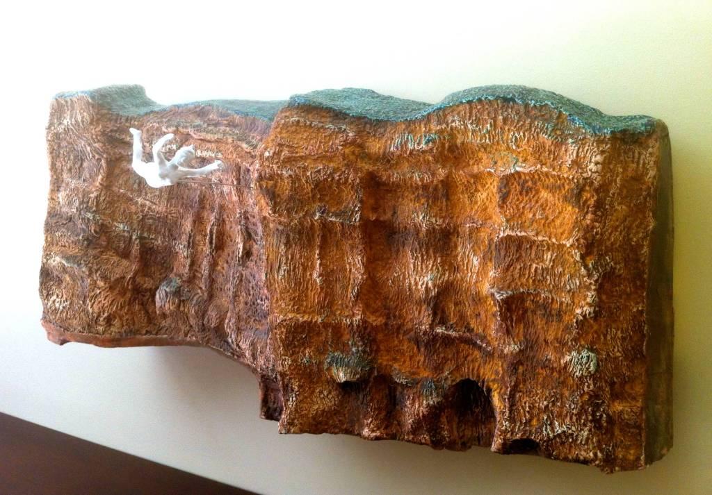 THE DREAM 4 - Ceramic, resin, steel - 2012
